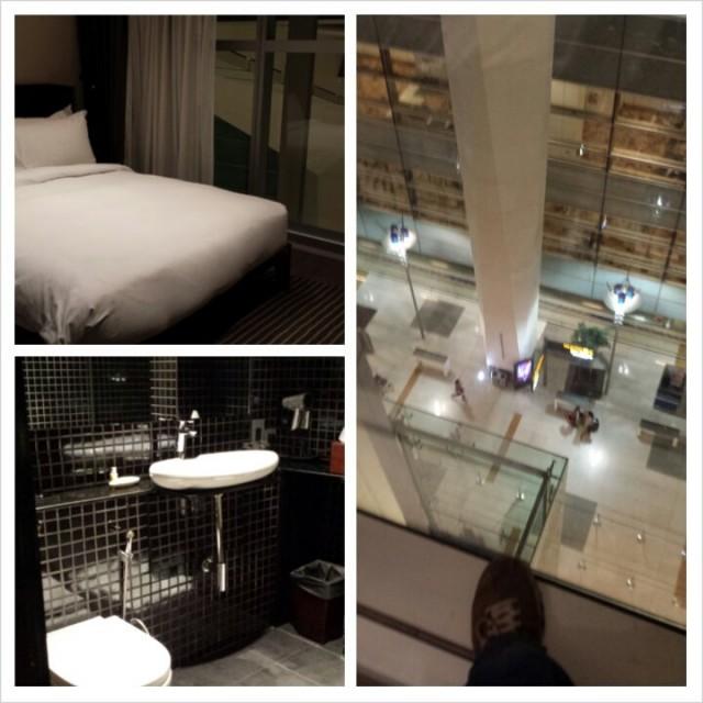 Eaton hotelli on ihan uusi. Delhin lentokentällä international puolella.