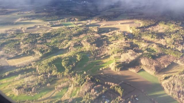 Talma golf ilmasta kuvattuna.