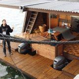 Maailman suurin saunalautatta. Ihan tavallisten ihmisten omistama.