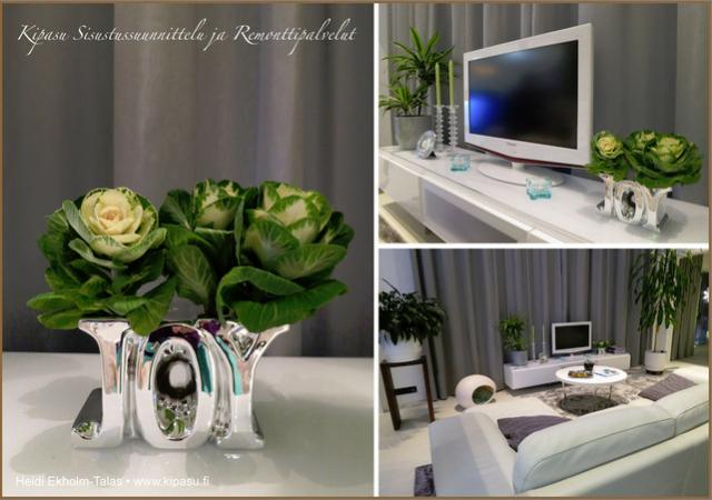 Heidin ihana olohuone. Tämä ihana yrittäjän koti inspiroi tämänkin blogikirjoituksen.