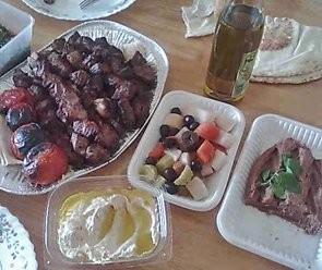 Saisiko olla syyrialaista ruokaa :)