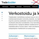 Tradedoubler sulkee Suomen toimiston