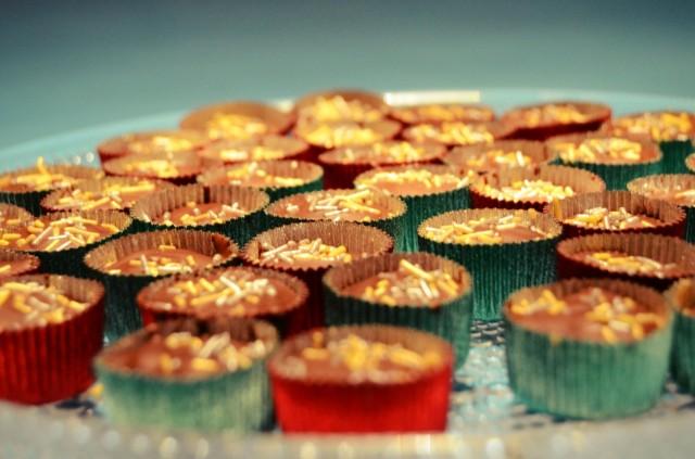 Nigellan maapähkinävoikupit