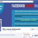 Facebookin vaarat -ohjesivusto opastaa tyypillisimmissä huijauksissa.