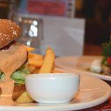 Rapeat ranut & tulinen burgeri!