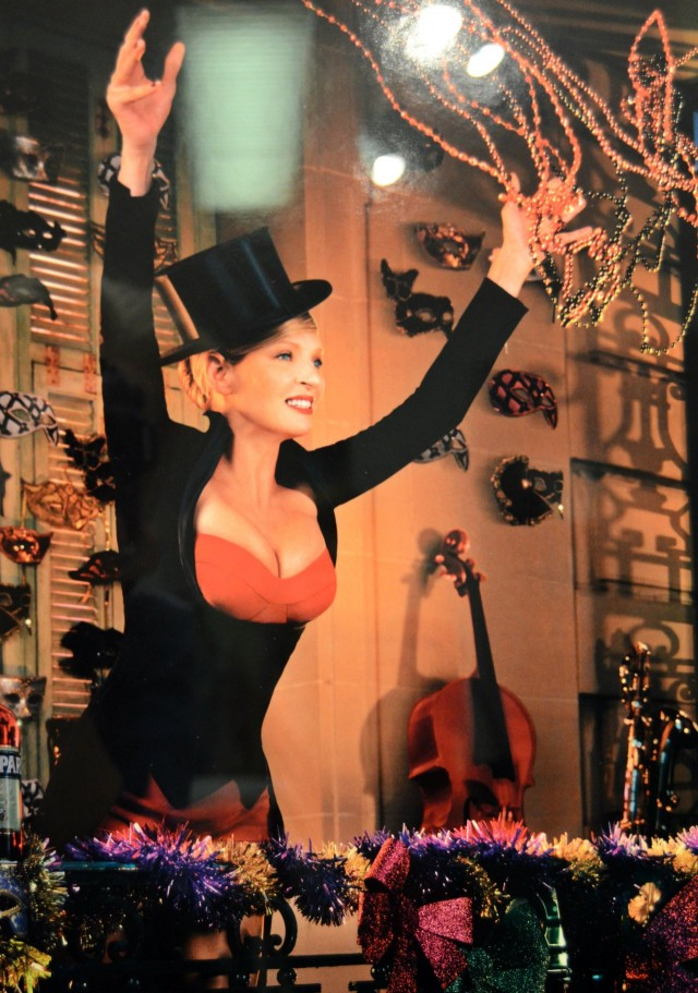 Camparin kalenterin tähti Uma Thurman on aikamoinen puumanainen.