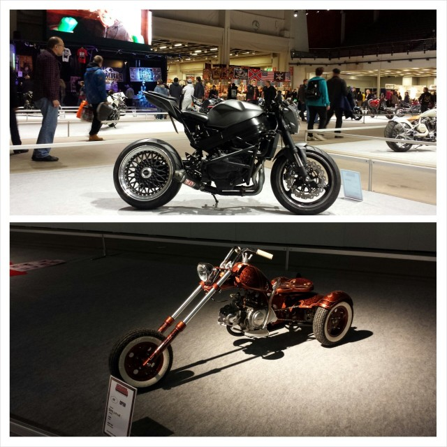 Moottoripyöräilyssä on monta alalajia: bombereita ja trike fiilistelijöitä.