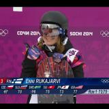 Enni Rukajärvi, peukku ylös, nauti elämästäsi! Nauti lumilautailusta!