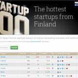 Vivas sijalle 5 Startup 100 rankingissa