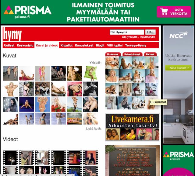 En tiedä haluaako Prisman brändipoliisi tällaista mainontaa oikeasti vai vahingossa?