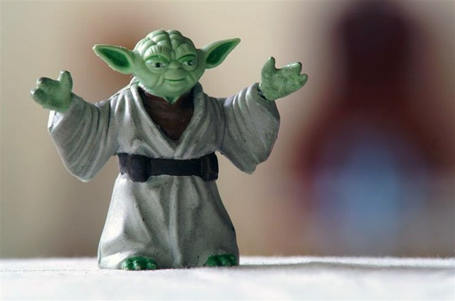 Do or do not. There is no try - Yoda. Kuva Flickr / Barron (CC by ND)