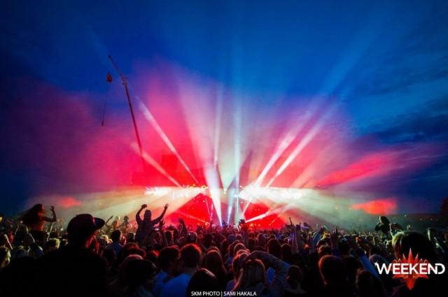Viime vuonna Weekend Festival oli joidenkin mielestä jopa liian täyteen tupattu.