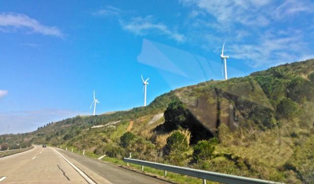 tuulivoimaa Atlantilta Portugalissa