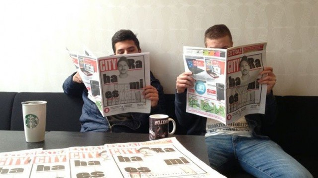 Vivas.fin Daniel ja Leo sekä uusi City-lehti.