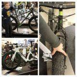 GoExpossa oli valtava valikoima polkupyöriä. En ollut ennen nähnyt näin leveitä renkaita zygässä.