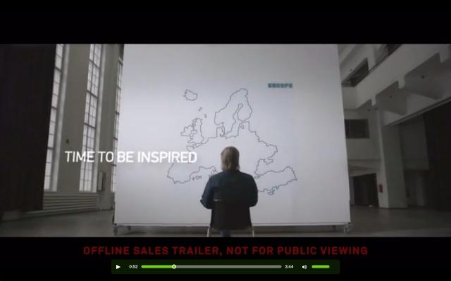 Europe 2020. Aika inspiroitua. Ilkka Tiaisen elokuvaprojekti.