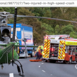 Goomia ja SummerUP festareita järjestänyt Martin Mustonen vakavassa kolarissa. Kuva  http://www.stuff.co.nz/national/9877327/Two-injured-in-high-speed-crash