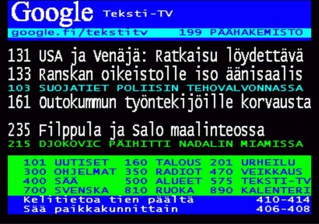Google osti Teksti-TV:n