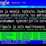 Google osti Teksti-TV:n