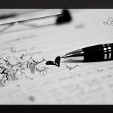 Kirjoittaminen auttaa jäsentämään ajatuksia. Kuva cc Leland Francisco.