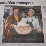 """""""Yrjö Erosen leipomien karjalanpiirakoiden maku hipoo yksinkertaisuudessaan sfäärejä"""""""