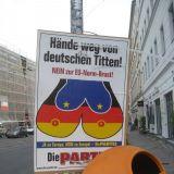 Näpit irti saksalaisista tisseistä.