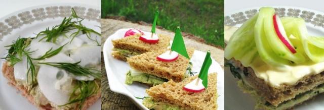 Avoleipä, eväsleipä, minivoileipäkakku = leipä poikineen!
