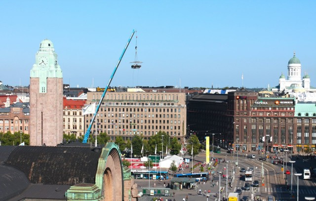 kuva: Dinner in the Sky Helsinki 2013