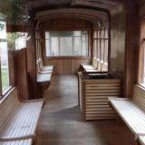 Suomalainen raitiovaunusauna Milanossa