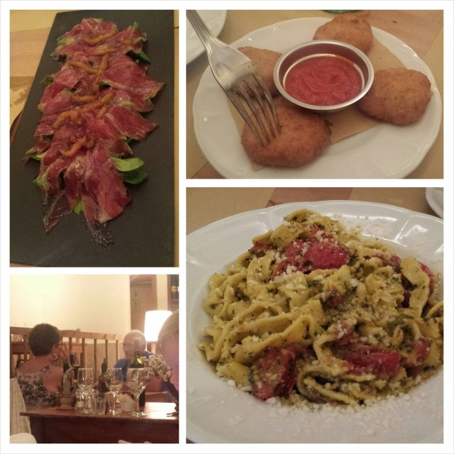 Tänään löysimme hyvää ruokaa pienestä ravintolasta ihan kaukana keskustasta Tripadvisorin avulla.