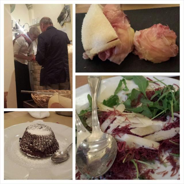 Roomasta löysimme kivan ravintolan jonne palasimme uudelleen. Ei täydellinen mutta ihan ok safkaa.