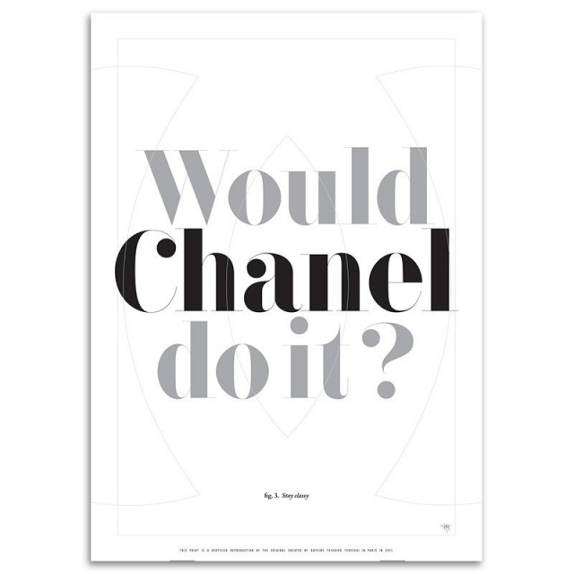 Would Chanel do it?