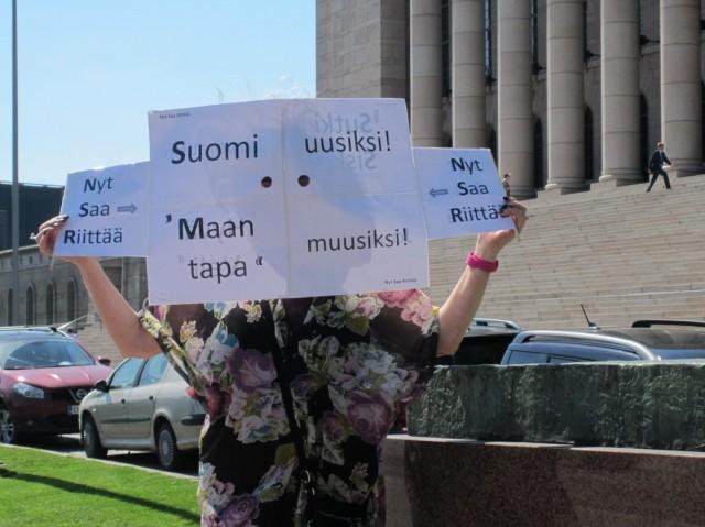 """""""Suomi uusiksi! - Maan tapa muusiksi!"""""""