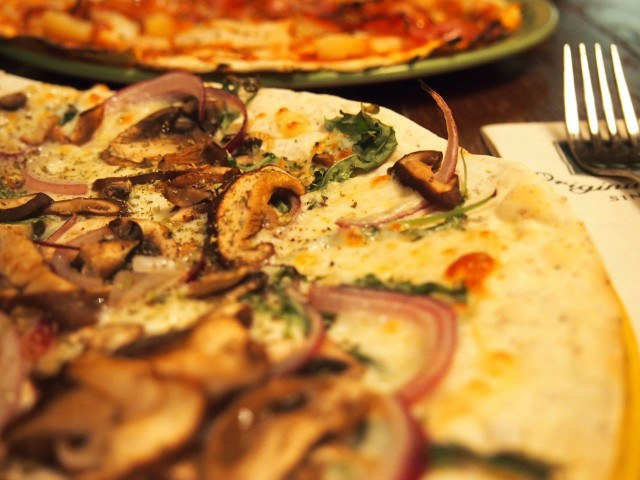"Jyrki Sukulan ""Truffo"" pizza."