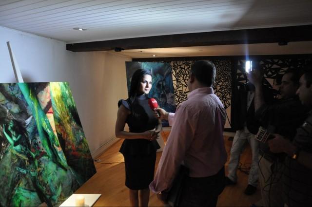 Veena Malik at Opening