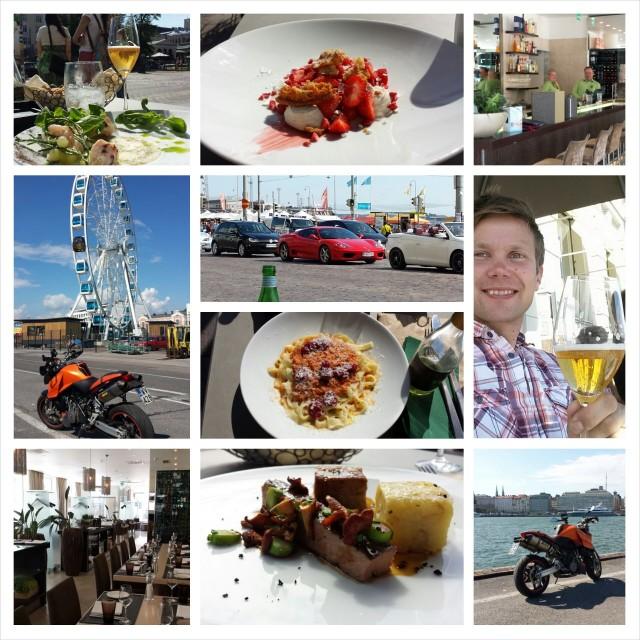 Ravintola Sasso on erinomainen ravintola Helsingin Kauppatorin ja Espan puiston tuntumassa.