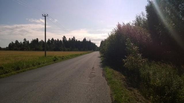 Tällä tiellä kulkiessani, minun ei voi käydä kuin hyvin.