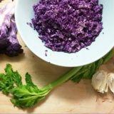 Violetti kukkakaali on NIIN NÄTTI että raaskiiko sitä ees syödä?