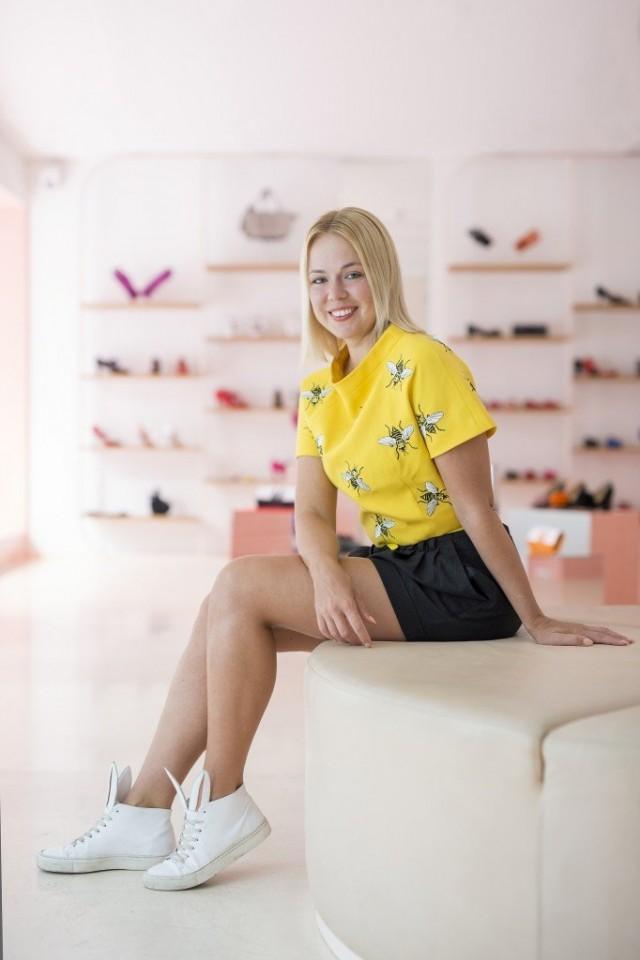Vuoden nuori muotoilija Minna Parikka innostui kenkäsuunnittelusta jo 15-vuotiaana.