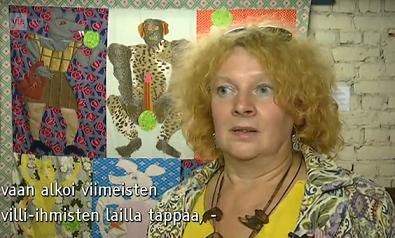 Irina Dudina A-studiossa 3.9.2014