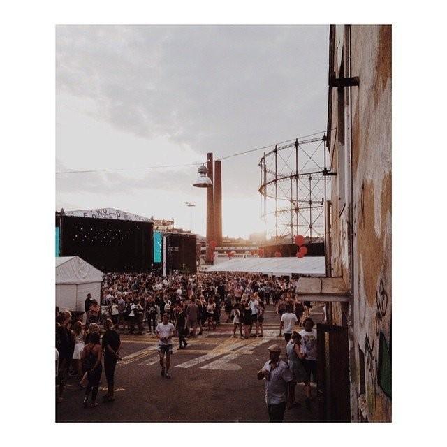 Suvilahden voimala-alueella järjestetään vuosittain myös Flow-festivaali.