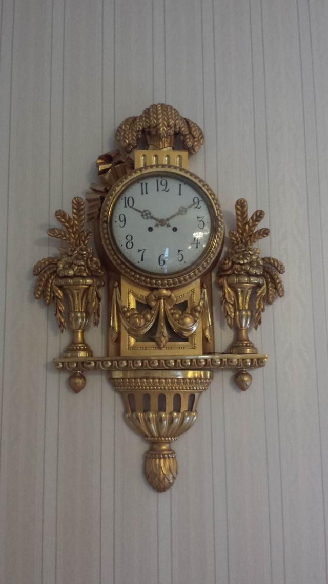 Hieno vanha kello.
