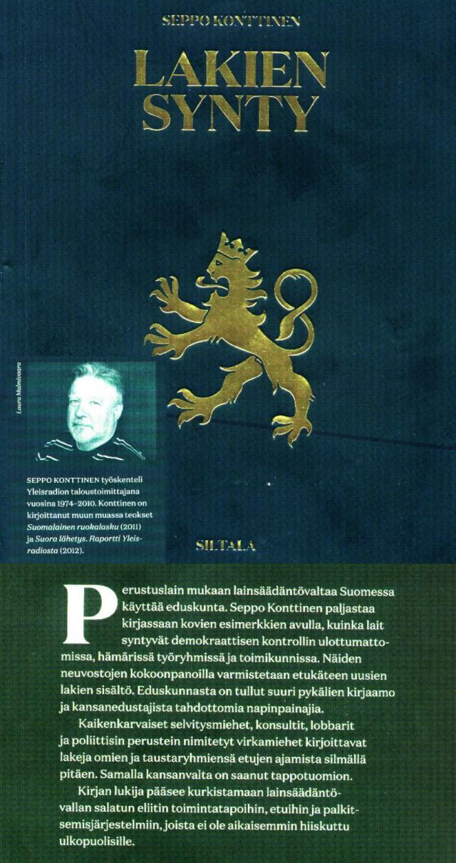 Suomen todellinen valtakoneisto kaikille tutuksi!