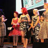 Vasemmalta: Miss Coco de Noir, Molla la Donna, Sandra D'ville, Honey B'zarre ja Joy Licious
