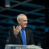 Jim Collins Nordic Business Forumissa 2014