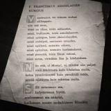 Fransiscus Assisialaisen rukous.