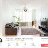 Haluatko lisätienestejä – vuokraa kämppäsi Airbnb:n kautta