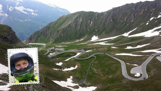 Alpeilla oli ihan huikeita teitä. Aion mennä uudestaankin moottoripyörällä alpeille.