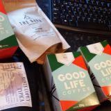 Good Life Coffee:lla on oma kahvipaahtimo ja pitihän mun heti ostaa kaikkia mahdollisia vaihtoehtoja.