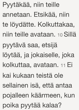 Luuk. 11:9-11